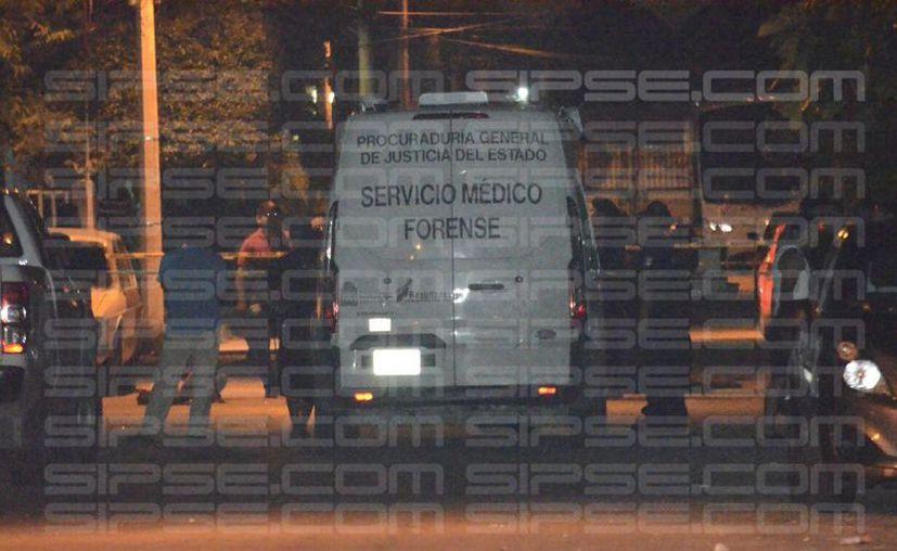 La zona fue acordonada por las autoridades, quienes se trasladaron a la zona. (Enrique Castro/ SIPSE)
