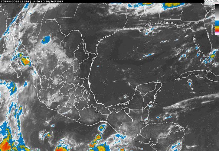 Para hoy se espera se espera un cielo mayormente despejado en Chetumal. (Conagua)