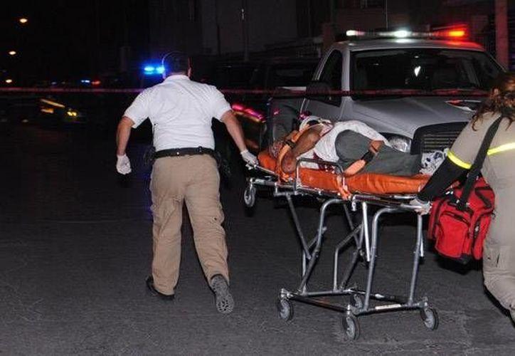Una de las víctimas que fue identificada por los delincuentes falleció en el hospital. (Archivo/SIPSE)