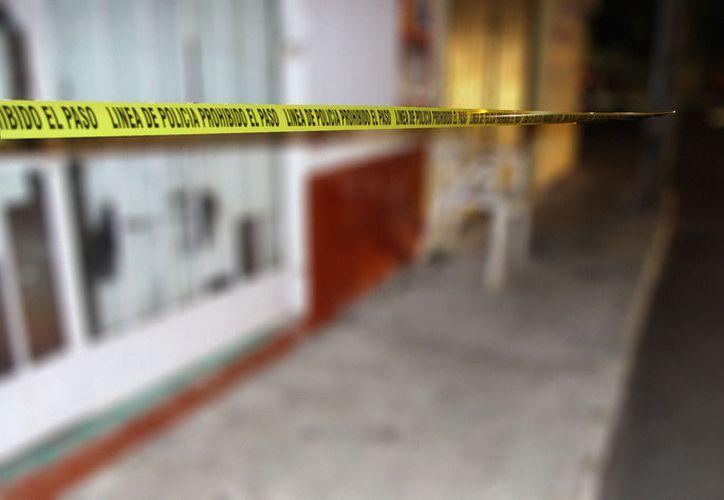 En un taller de reparación de llantas, una mujer acuchilló a su cuñado. (Martín González/SIPSE)