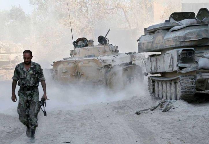 El ejército sirio declaró que si vuelve a ocurrir un ataque de Israel, quedará en peligro la estabilidad de toda la región. (Agencias/Archivo)