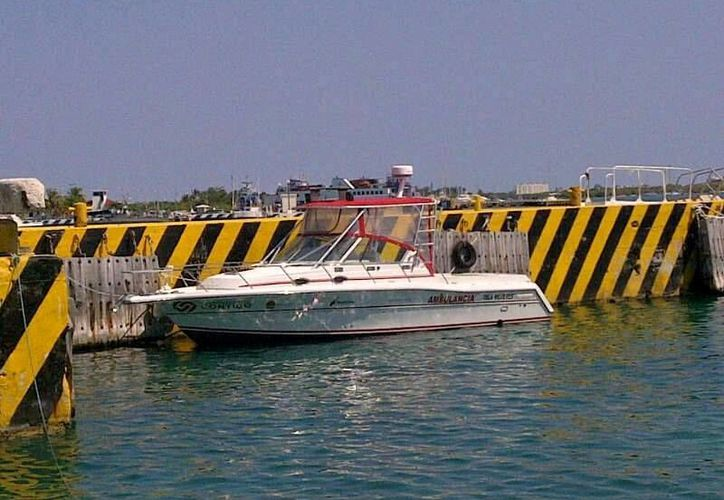 Entregarán de forma oficial la ambulancia marítima. (Lanrry Parra/SIPSE)