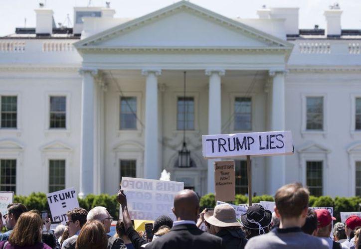 Según los organizadores, este miércoles se sumaron más de 500 personas a las protestas. (Getty Images).