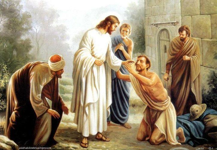 Jesús devolvió la vista al ciego Bartimeo, quien en agradecimiento siguió al Maestro en su camino. (minutodedios.fm)