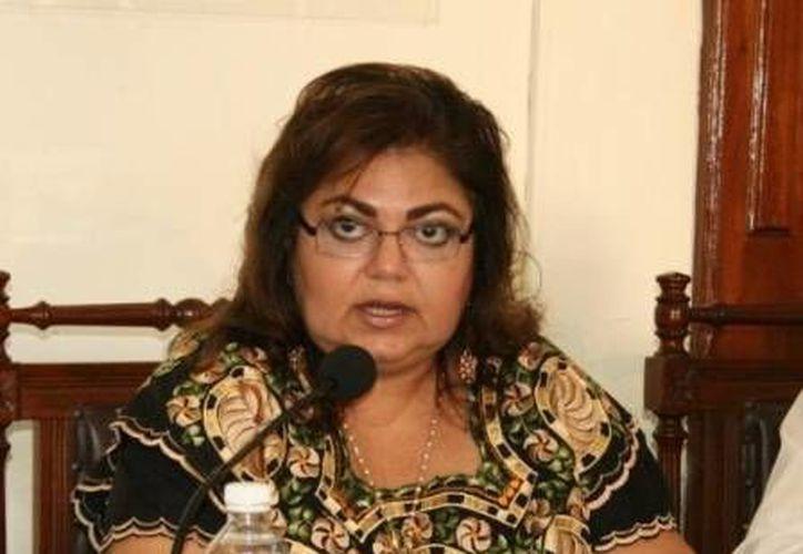 María Elena Achach Asaf ordenó la degradación de sueldo y cargo de cuando menos cinco funcionarios de primer nivel. (Milenio Novedades)