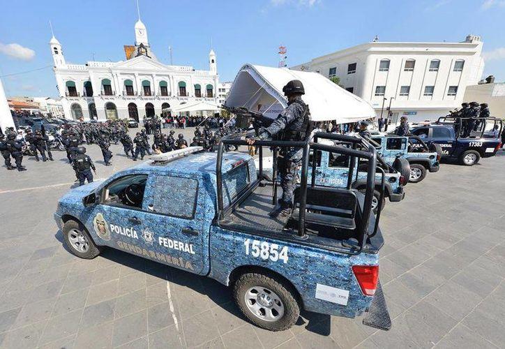 La Gendarmería Nacional permanecerá en Tabasco el tiempo que sea necesario, indicaron las autoridades. (Facebook/Gobierno del Estado de Tabasco)
