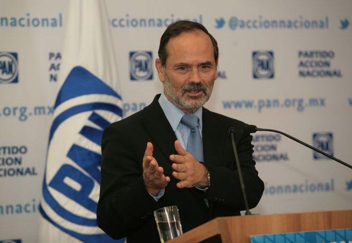 Madero aseguró que no habrá prórroga para la afiliación al PAN. (Notimex)