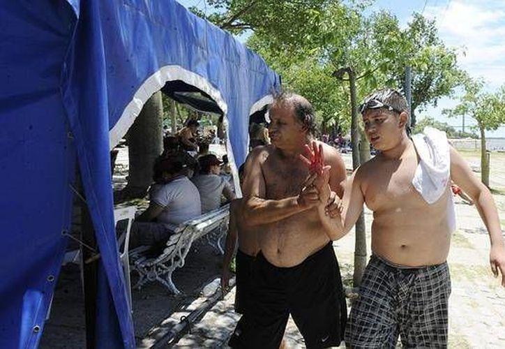El pasado 25 de diciembre el ataque de las pirañas dejó a 70 personas heridas. (Archivo/EFE)