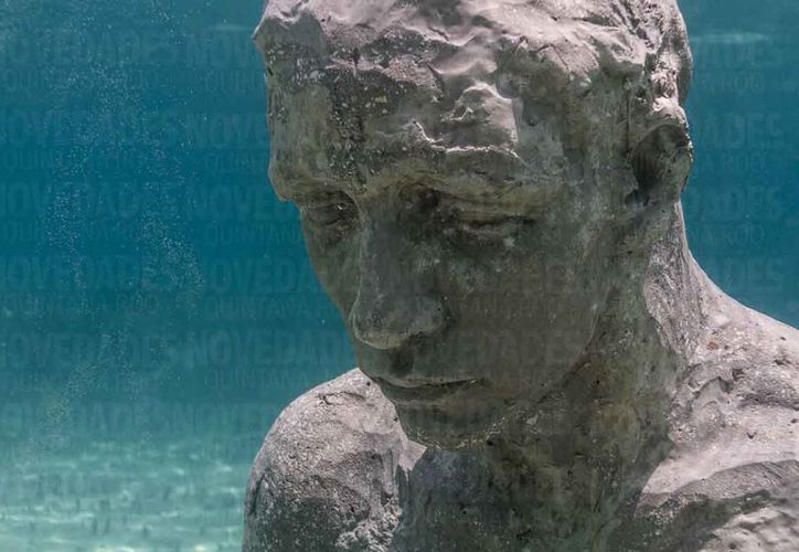 La subsistencia del museo subacuático es a base de donativos. (Israel Leal/SIPSE)