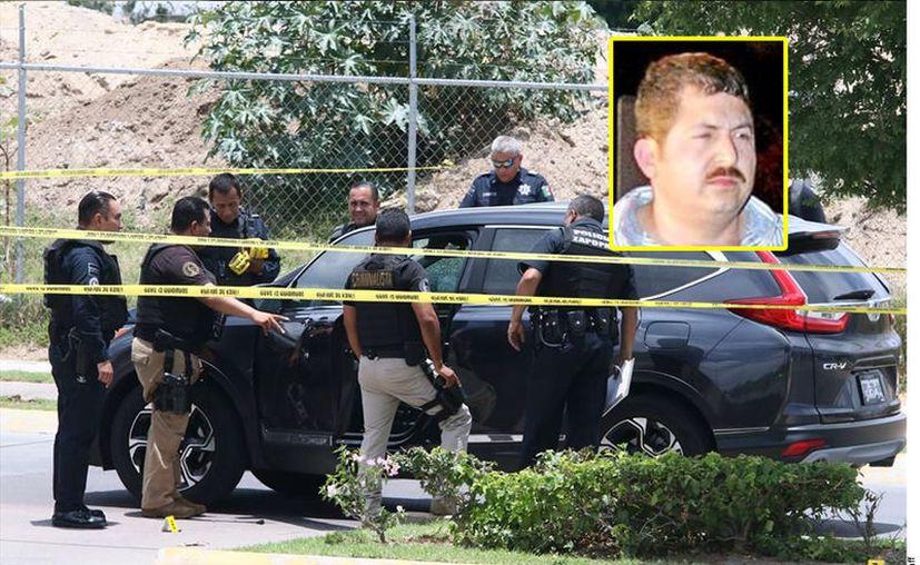Héctor Huerta, alias 'La Burra', líder narco que se disputaba la plaza de San Pedro, es ejecutado en Guadalajara. (Agencia Reforma)
