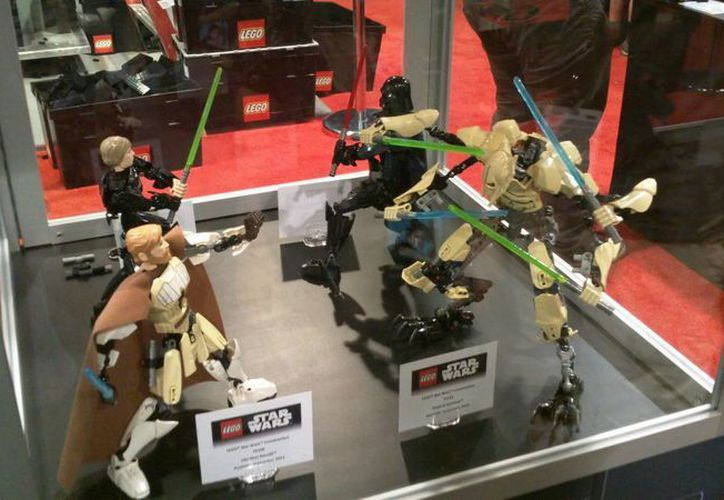 Lego prepara lanzamiento de nuevos juguetes de Star Wars. (Hugo Peniche/SIPSE)
