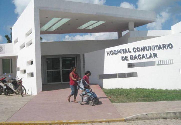 Atienden a la semana alrededor de 50 enfermos semanalmente. (Javier Ortiz/SIPSE)