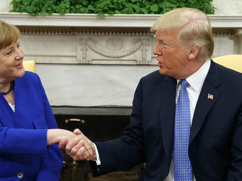 Trump is widely expected to withdraw the U.S. from the Iran nuclear accord next month. (AP)