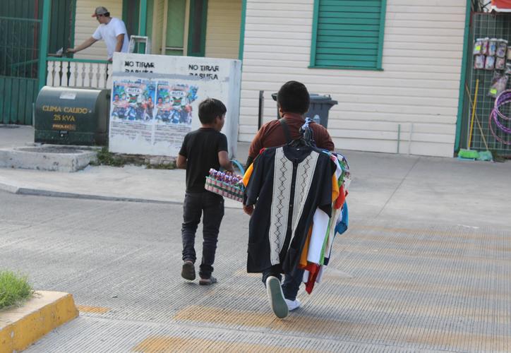 Los municipios con población rural e indígena registran el mayor índice de casos de ocupación infantil. (Daniel Tejada/SIPSE)