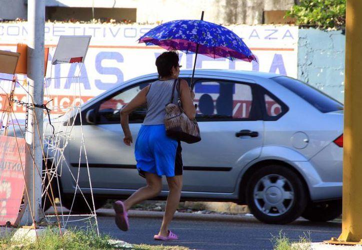 Este miércoles en Mérida se registró una temperatura máxima de 35.2 grados. (SIPSE)