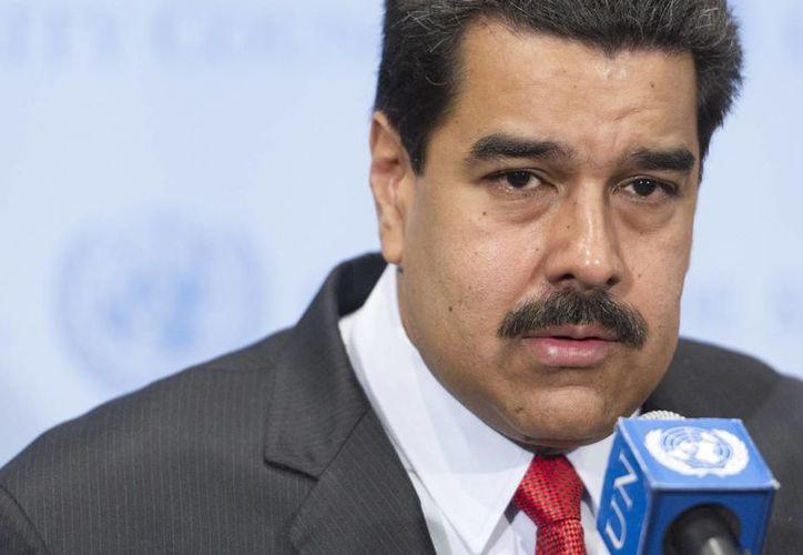 Nicolás Maduro admite que a Venezuela han ingresado solamente 77 millones de dólares por concepto de exportaciones petroleras. (Archivo/Notimex)