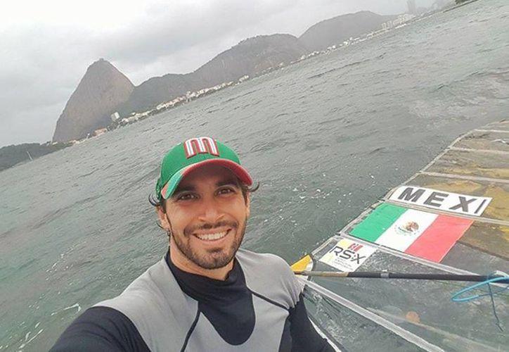 El velerista mexicano David Mier y Terán inició sus entrenamientos para los Juegos Olímpicos en Río de Janeiro, Brasil. (Milenio Novedades)