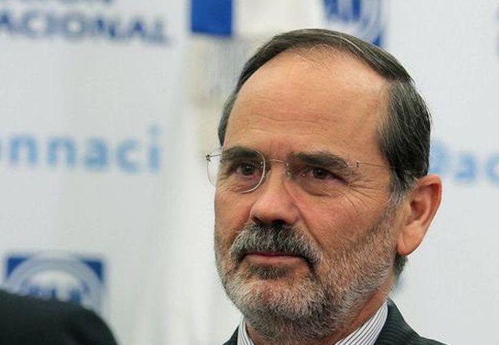 Gustavo Madero, dirigente nacional del PAN, dijo que el partido cierra 2013 con logros y avances electorales. (Archivo/Notimex)