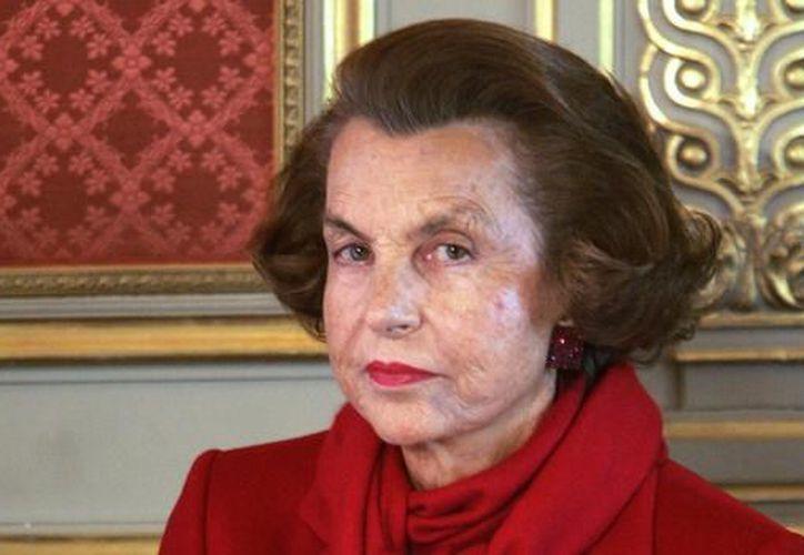 Liliane Bettencourt, la mujer más rica del mundo, según Forbes. (ABC)