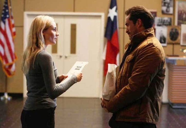 Bichir hará mancuerna en la serie con Diane Kruger. (peliculasdeestreno.mx/Archivo)