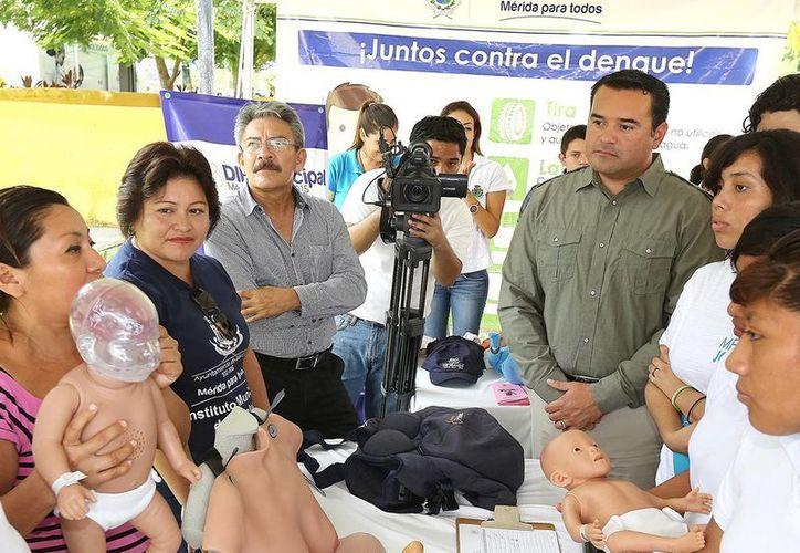 El Alcalde indicó que espera un mayor compromiso de su subalternos. (Milenio Novedades)