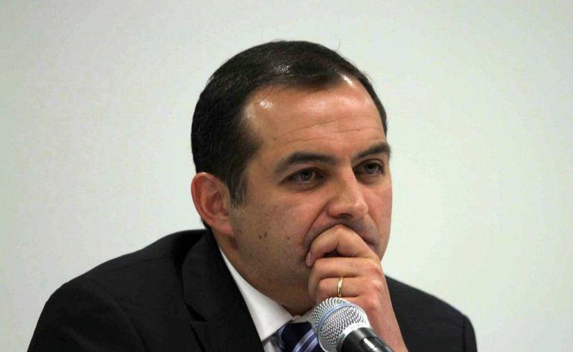 El senador dijo que la decisión del líder nacional del partido, Gustavo Madero, de removerlo del cargo, es inoportuna ante las próximas elecciones. (Notimex)