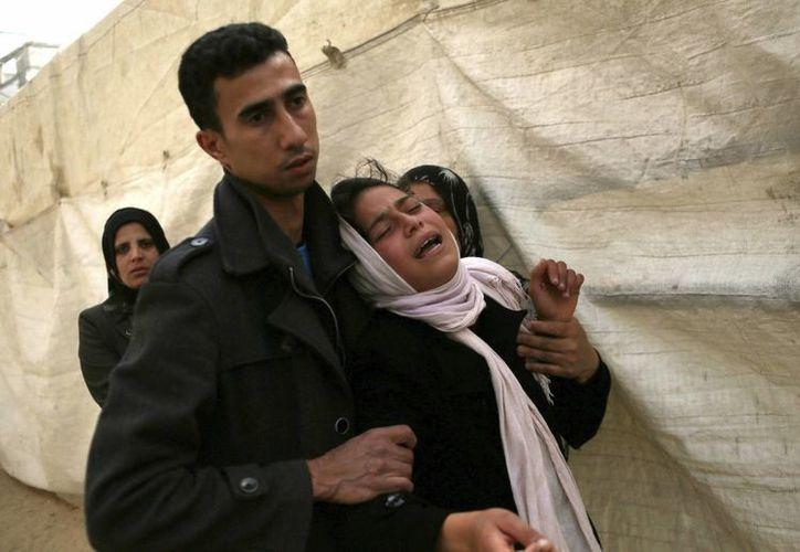 Israel ha justificado las muertes argumentando que los palestinos violaron la zona prohibida en la franja de Gaza. (EFE)