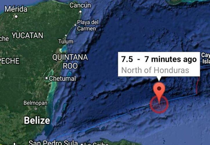 La alerta de tsunami está vigente para los territorios del Caribe como las Islas Caimán, Jamaica, Honduras, Cuba, Belice, San Andrés, Costa Rica, Panamá, Nicaragua y Guatemala. (Contexto/Internet)