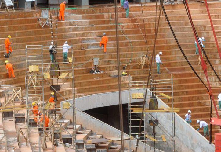 El estadio tenía contemplado ser inaugurado el próximo domingo. (Foto: EFE)