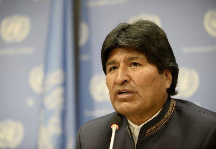"""Evo Morales lamentó que """"por falta de coordinación e información"""" no pudo acudir al servicio religioso en honor de Mandela. (Archivo/EFE)"""