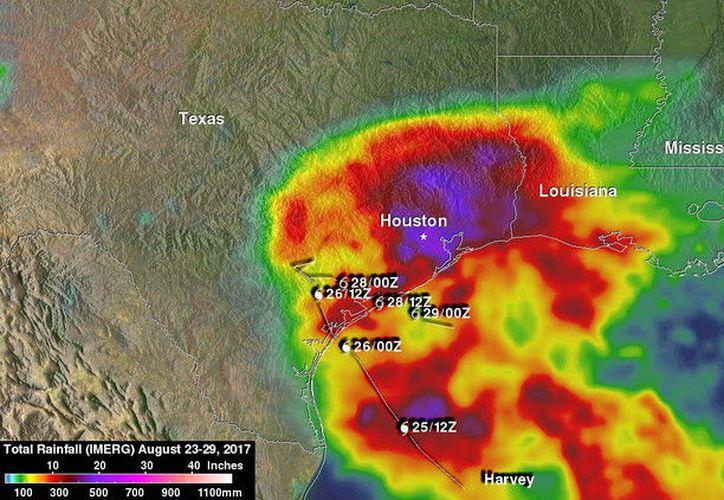 El Gobierno de Texas no ha dado cifras oficiales sobre las muertes relacionadas directamente con la tormenta. (NASA)