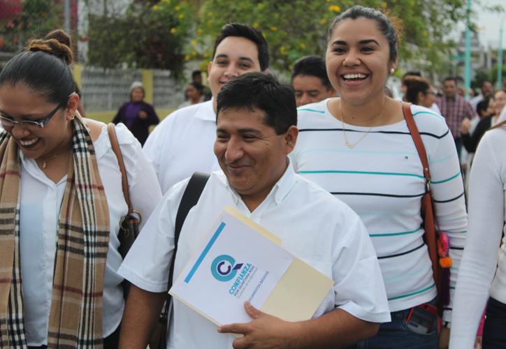 Los representantes de Confianza por Quintana Roo reconocen que se trata de un gran reto haber obtenido el registro. (Joel Zamora/SIPSE)