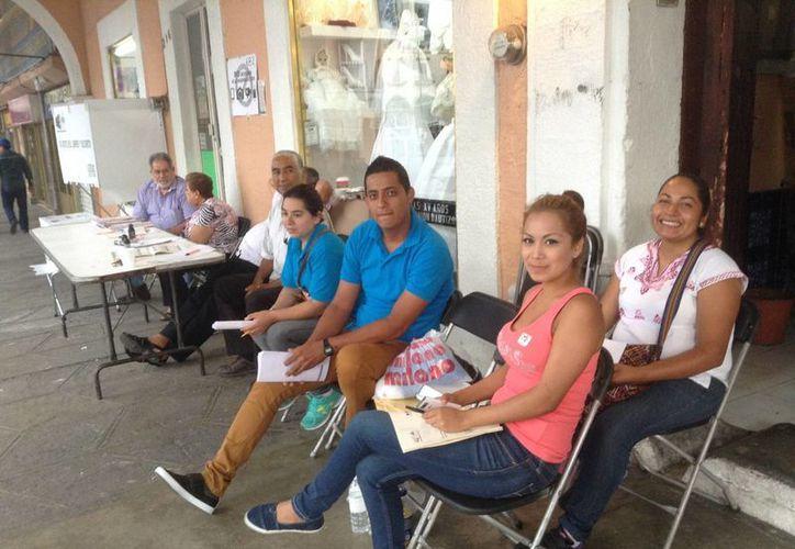 Una mesa de votación en Nayarit, donde este domingo se eligieron 20 alcaldes. (Notimex)