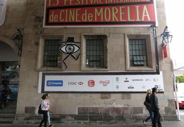 El Festival Internacional de Cine de Morelia exhibirá en esta ocasión 106 películas de producción nacional, a partir de este viernes. (AP/ Berenice Bautista)