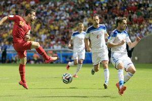 Gracias a suplente, Bélgica gana 1-0 a Rusia