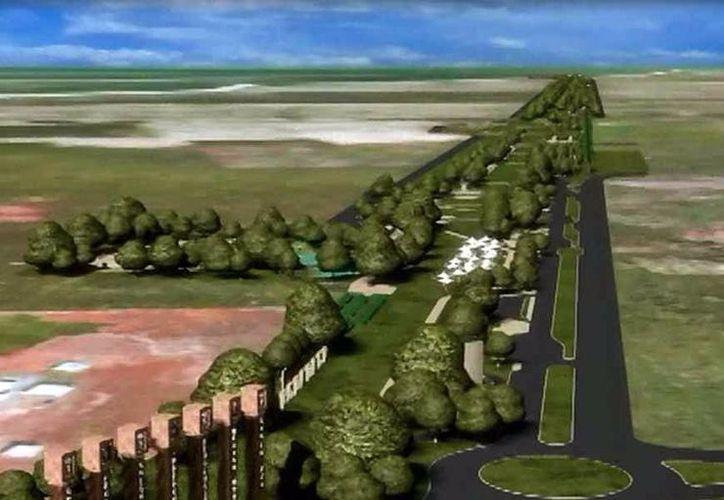 El Parque Lineal Metropolitano abarca una amplia franja de terreno. (SIPSE)