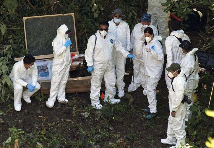 Imagen de archivo del basurero de Cocula, donde la PGR indicó que fueron quemados los cuerpos de los 43 normalistas desaparecidos en Iguala. (Archivo/Agencias)