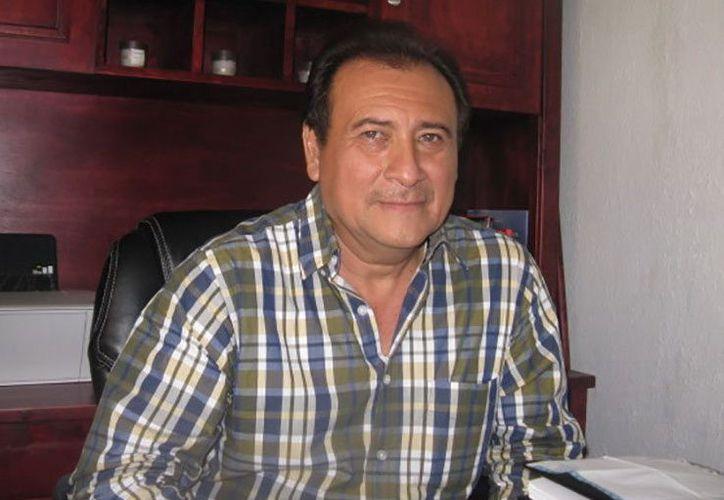 Manuel Tzab Castro, delegado especial de la Sección 33 del SNTE. (Milenio Novedades)