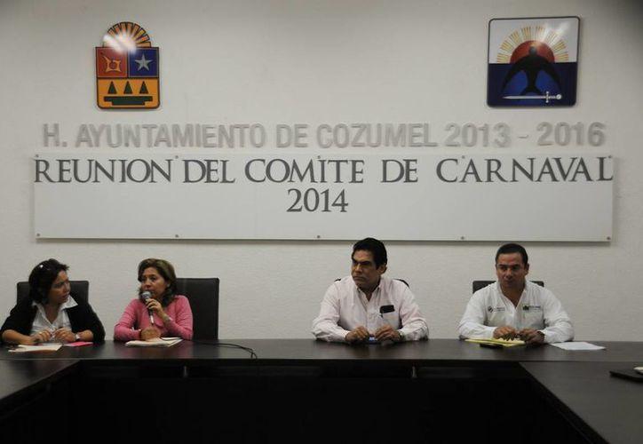 Se reunió el Comité del Carnaval 2014. (Cortesía/SIPSE)