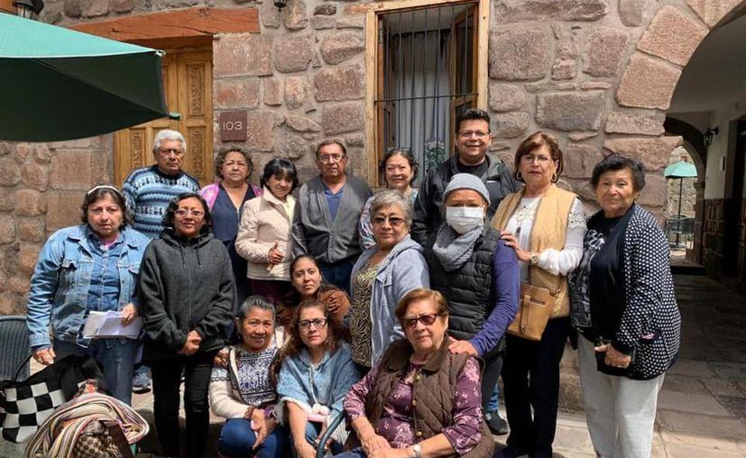 Viajaron a Perú para realizar actividades religiosas.