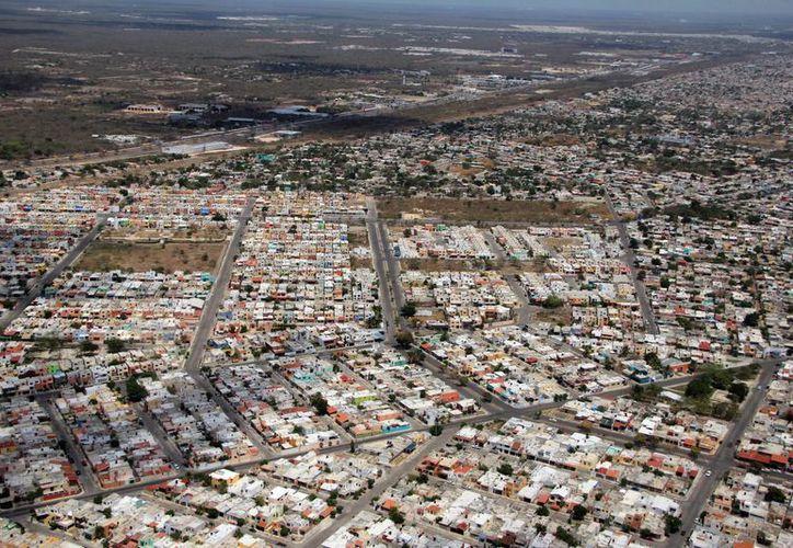 La ciudad de Mérida se expande en los cuatro puntos cardinales. (Milenio Novedades)