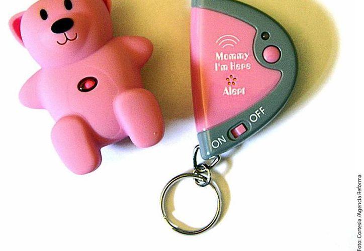 Mommy Im Here es un localizador disfrazado de osito de juguete. (Agencia Reforma)