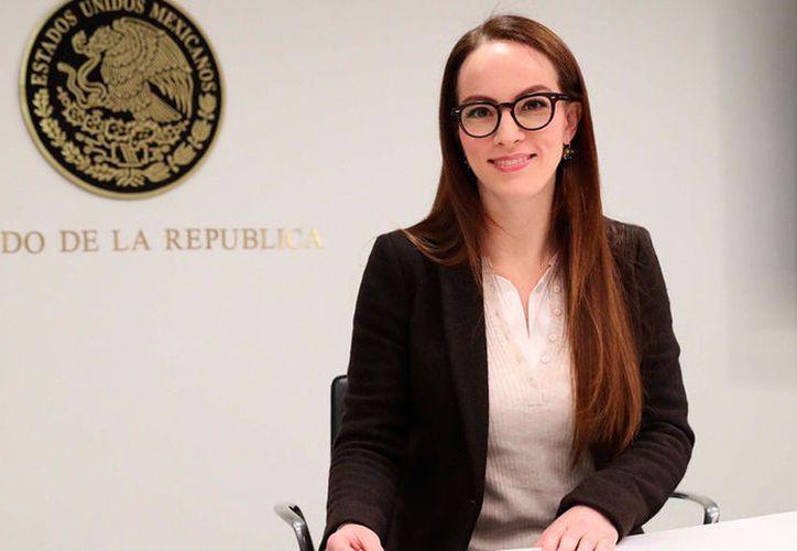 Gabriela Cuevas, senadora de la República, anunció que mañana formalizará su salida de Acción Nacional. (Contexto/Internet)