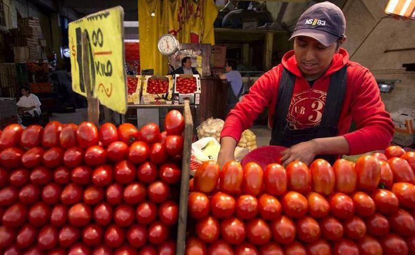 El tomate es uno de los productos que Yucatán tiene que comprar en otros estados para cubrir la demanda local. (SIPSE)