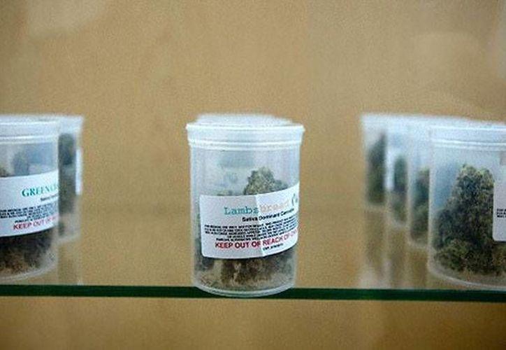 Washington ha abierto la primera farmacia donde se puede comprar legalmente marihuana para uso médico. (Imagen de contexto tomada del sitio actualidad.rt.com)