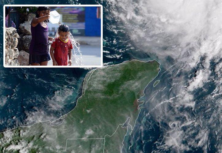 Michael se aleja y el calor regresa a la capital del Estado. (SIPSE)