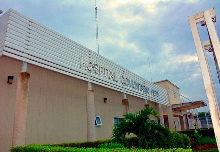 En el hospital comunitario de Peto (foto), una mujer indígena embarazada recibió un diagnóstico correcto, pero un mal tratamiento. (salud.yucatan.gob.mx)