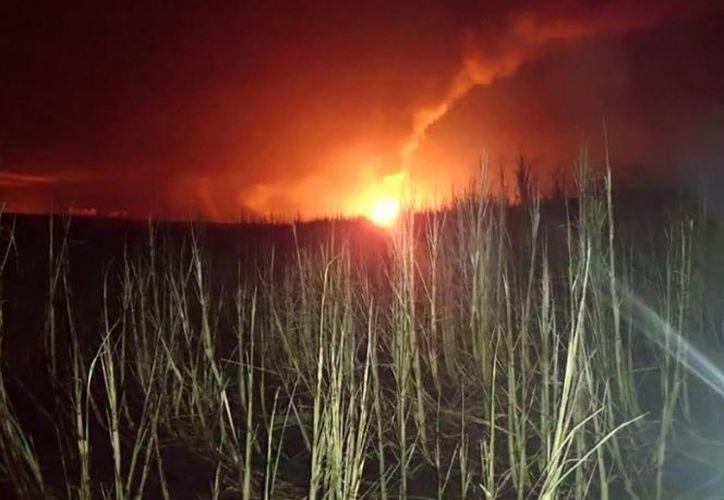 El incidente se registró en el poblado C33, ubicado entre los límites de Huimanguillo y Cárdenas, Tabasco. (excelsior.com)
