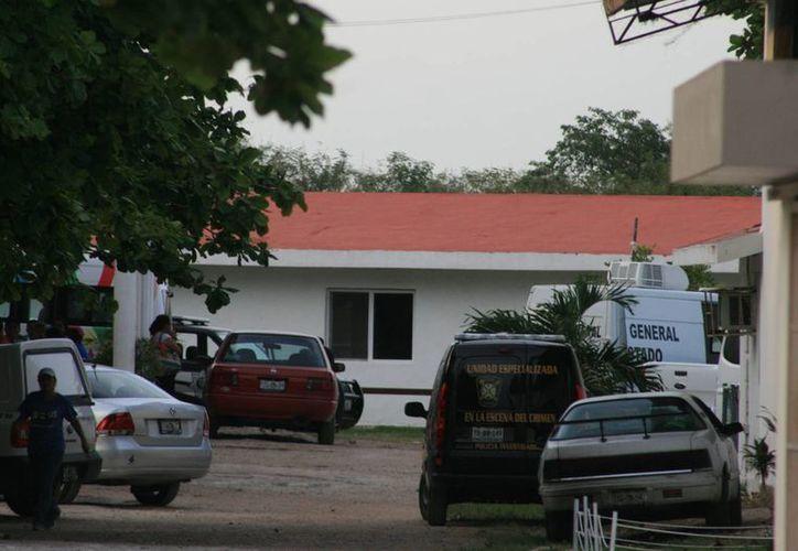 Este martes, una niño de 8 años de edad, quien habita en el Caimede, falleció en una alberca de la iglesia cristiana Fuente de Vida. (Jorge Sosa/SIPSE)
