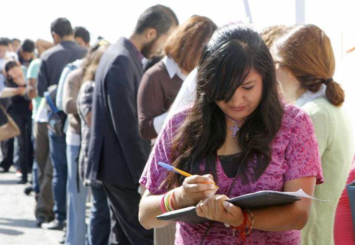 Imagen de la Primera Feria del Empleo para jóvenes que se realizó en el Instituto Cultural Poblano. (Archivo/Notimex)